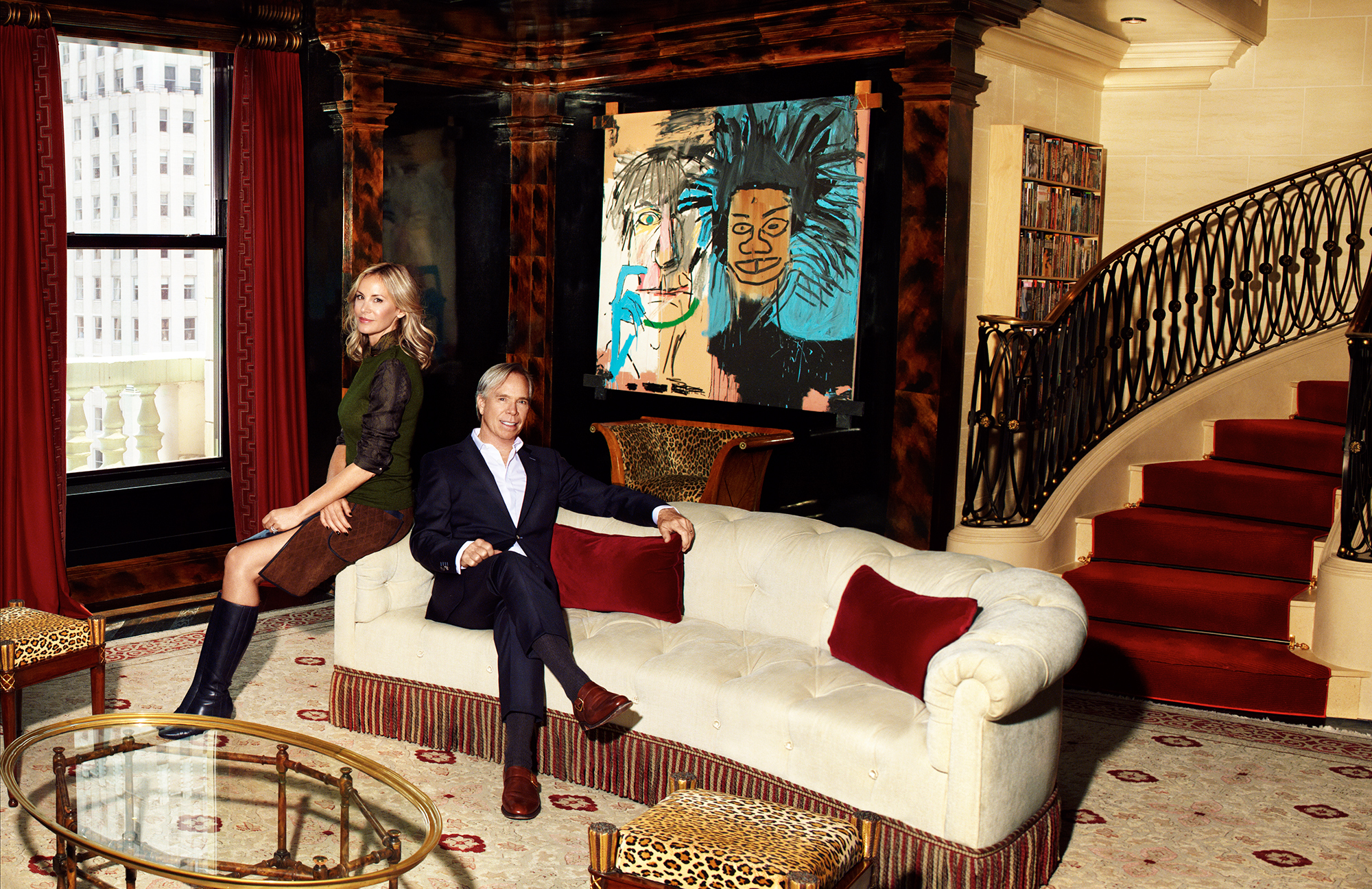 Tommy hilfiger lists his 80 million penthouse at the for Most expensive penthouse in nyc
