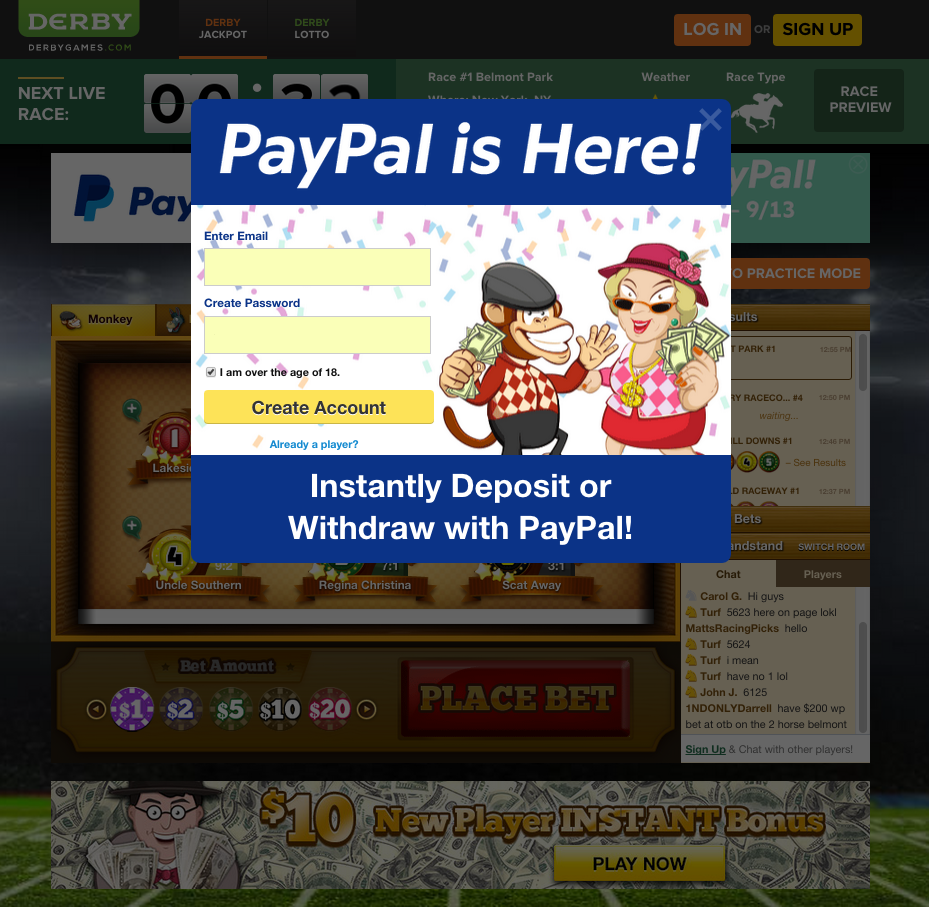online casino paypal europe entertainment ltd