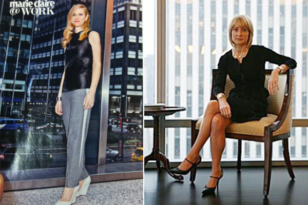 How Not To Photograph Wall Street S Lady Cfos