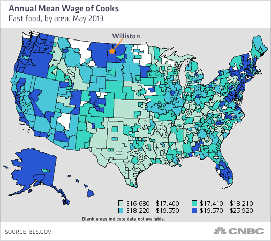 Minimum Wage For Fast Food Managers