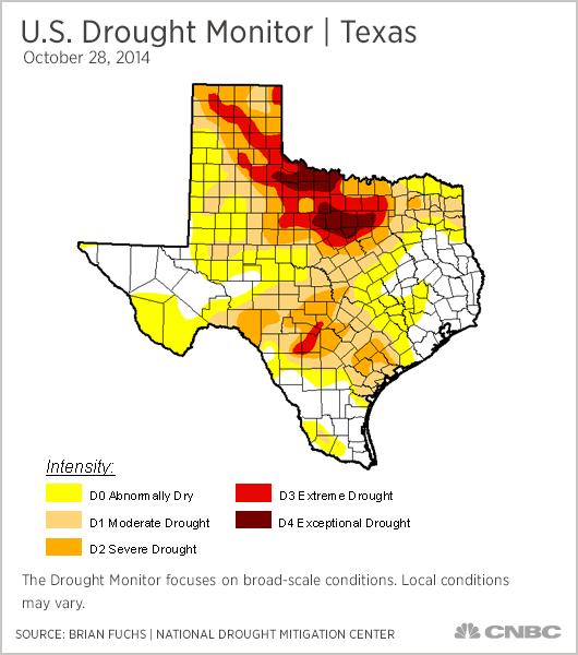 Us Drought Map California Globalinterco - Us drought map california