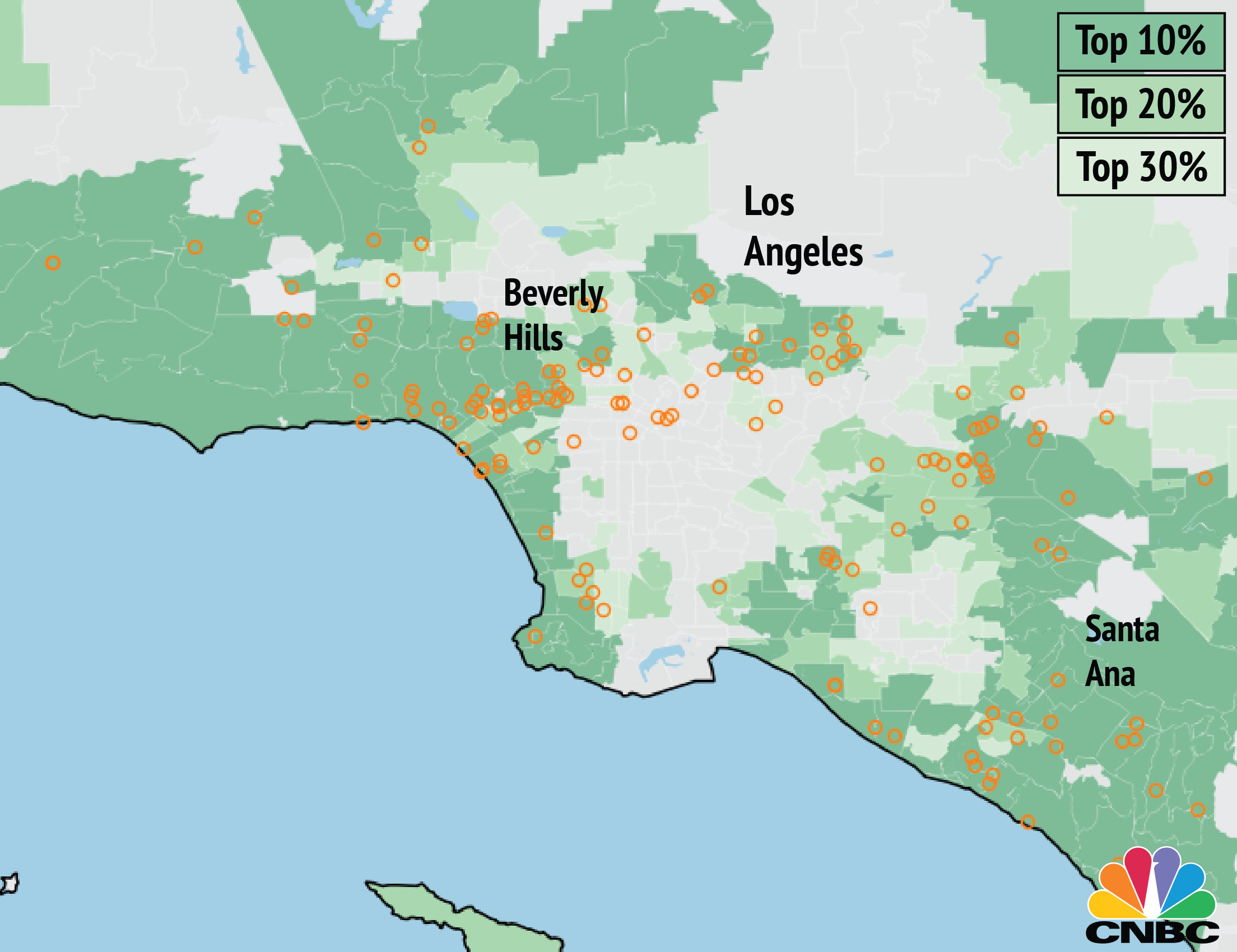 Panama papers offshore companies linked to homes in for Best neighborhoods in los angeles for singles