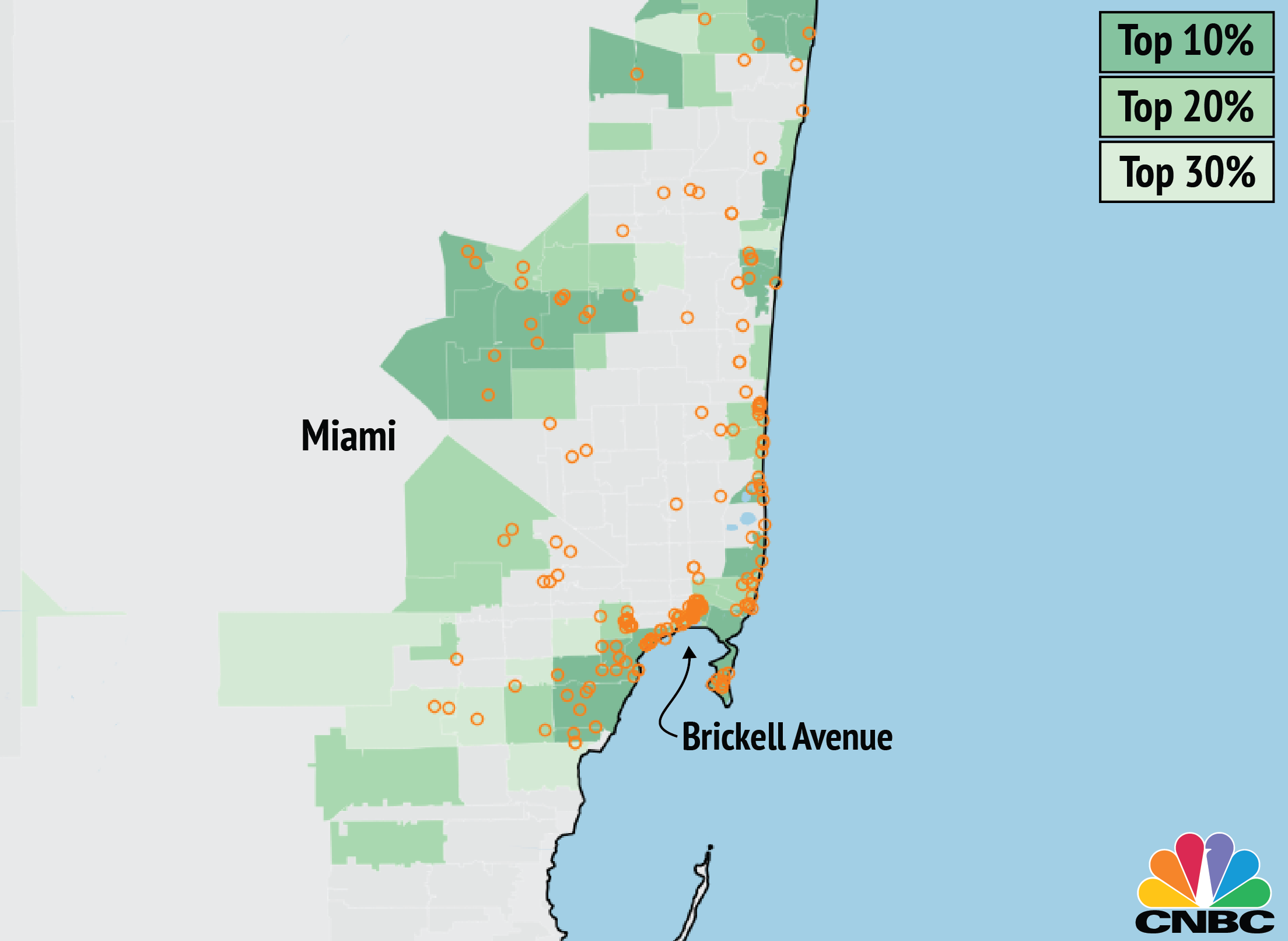 Brickell Zip Code Map.Panama Papers Offshore Companies Linked To Homes In Expensive Areas