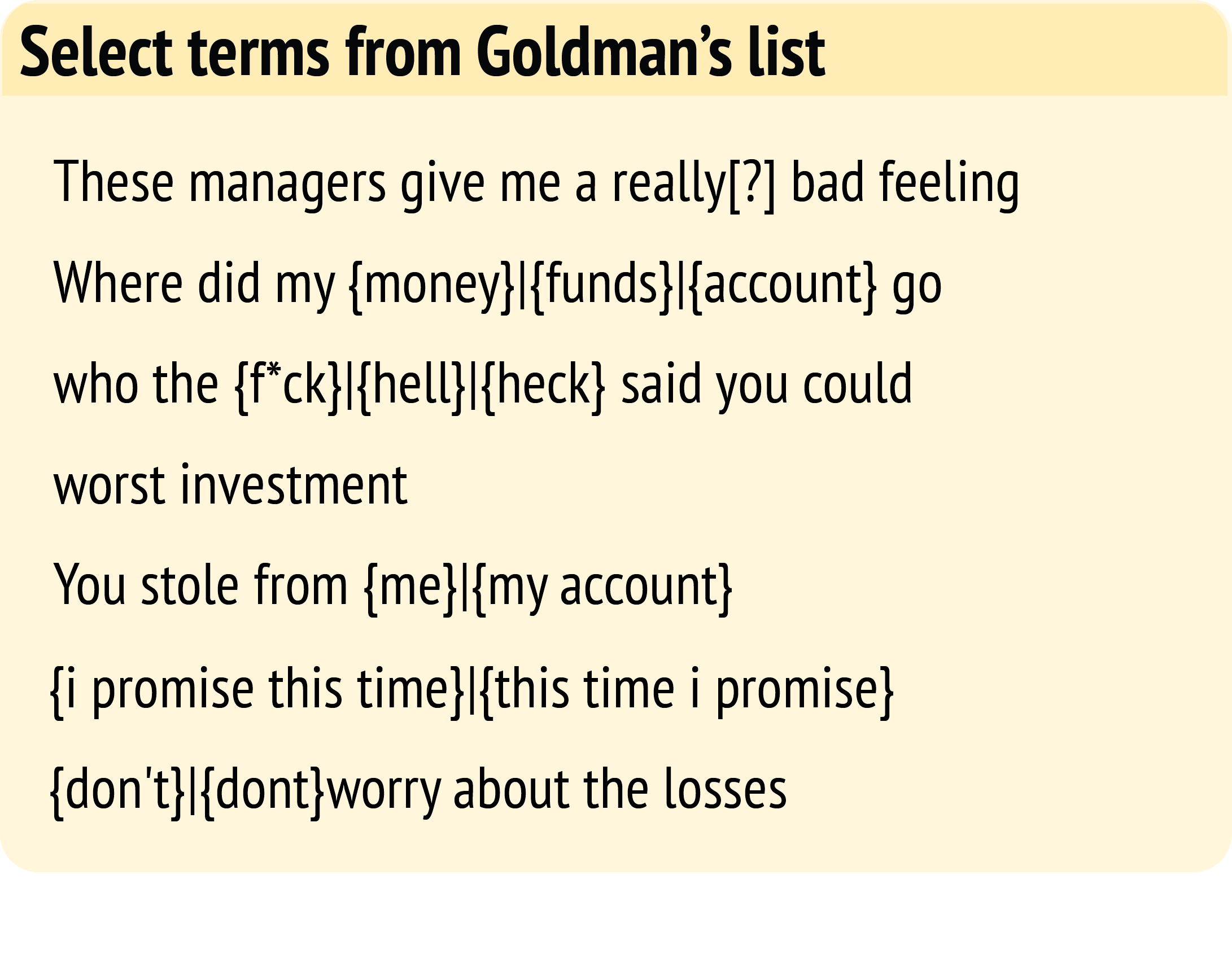 How To Close A Presentation Goldman Sachs Also Monitored For Email About  Calling Financial Regulators Oranizations, Including The Sec,