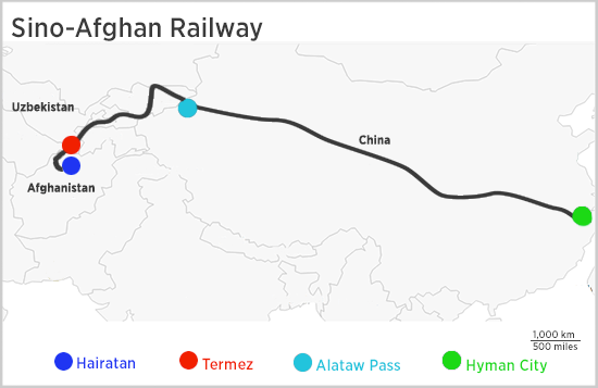 Chinas Silk Road Railway Disrupted By Uzbekistan Security - Uzbekistan map png