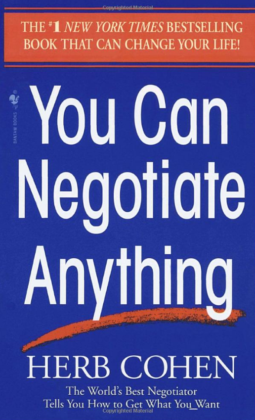 you can negotiate anything herb cohen pdf download