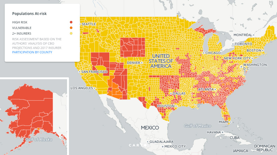 Look at this map to see if you might end up without Obamacare