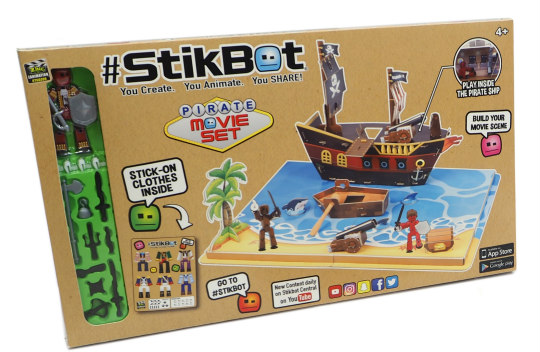 The 13 hottest toys from the new york toy fair stikbot stop motion set gumiabroncs Choice Image
