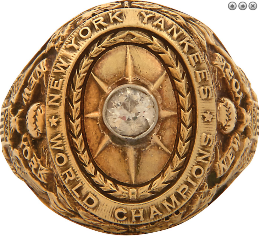 Babe Ruth World Series Ring
