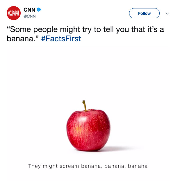 CNN Seems to Take Aim at Trump With 'Facts First' Advertisement