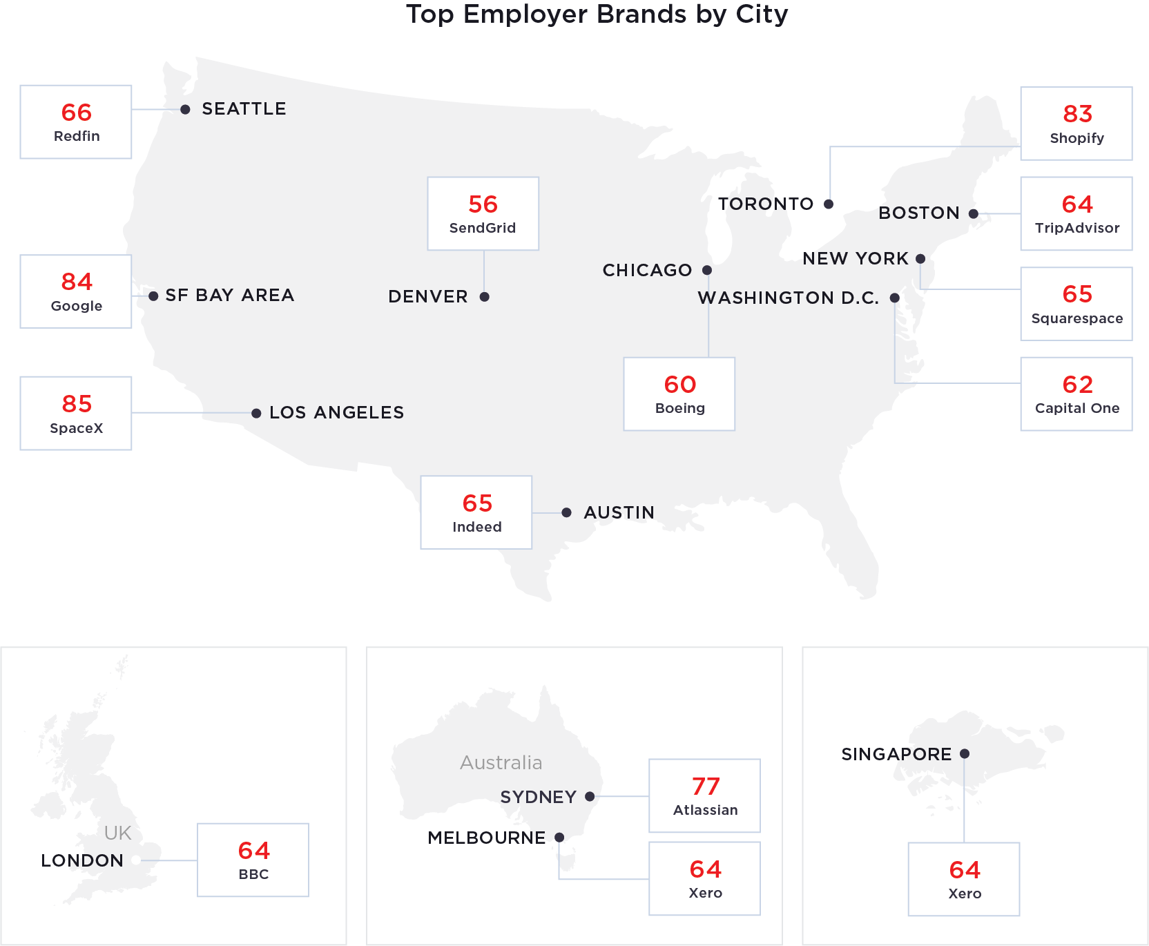 Visit SpaceX, Google and Shopify top the list of places ...