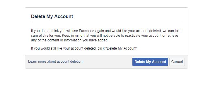 How to delete pictures off facebook