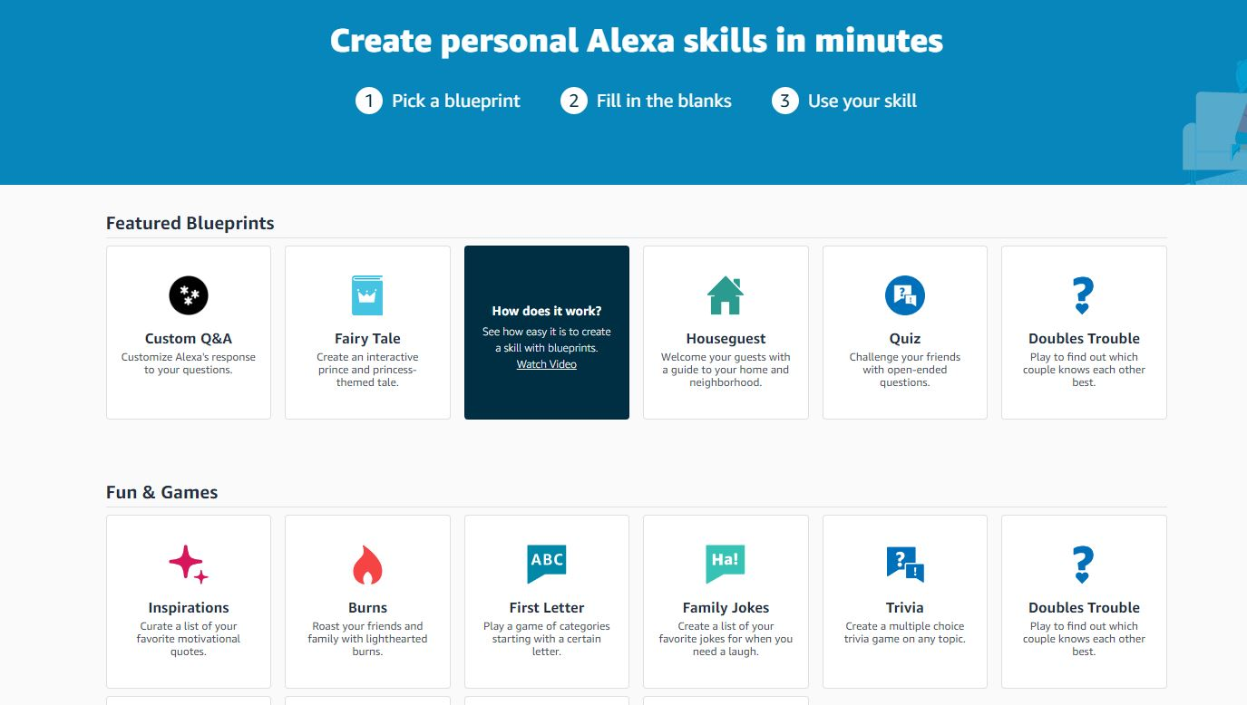 How to create custom responses for alexa on amazon echo customize the questions and responses malvernweather Images