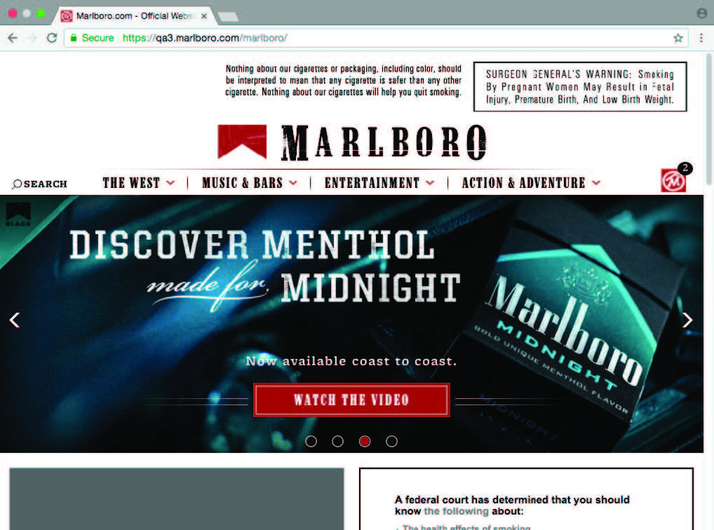 Tobacco Companies Websites To Post Court Ordered Warnings