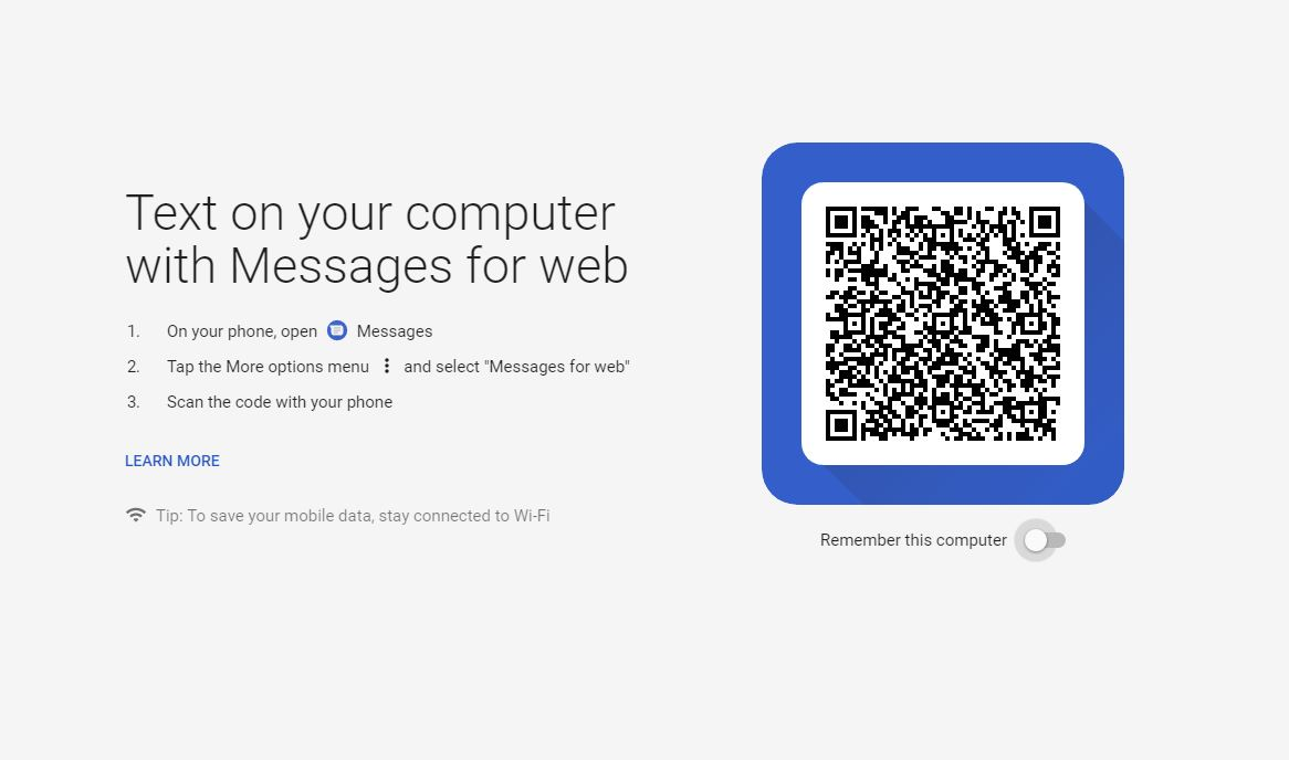 How To Use Android Messages In A Web Browser